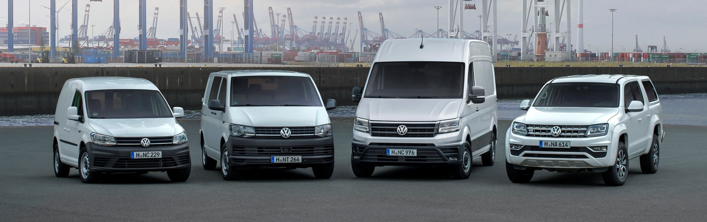Volkswagen Commercial Vehicle Range