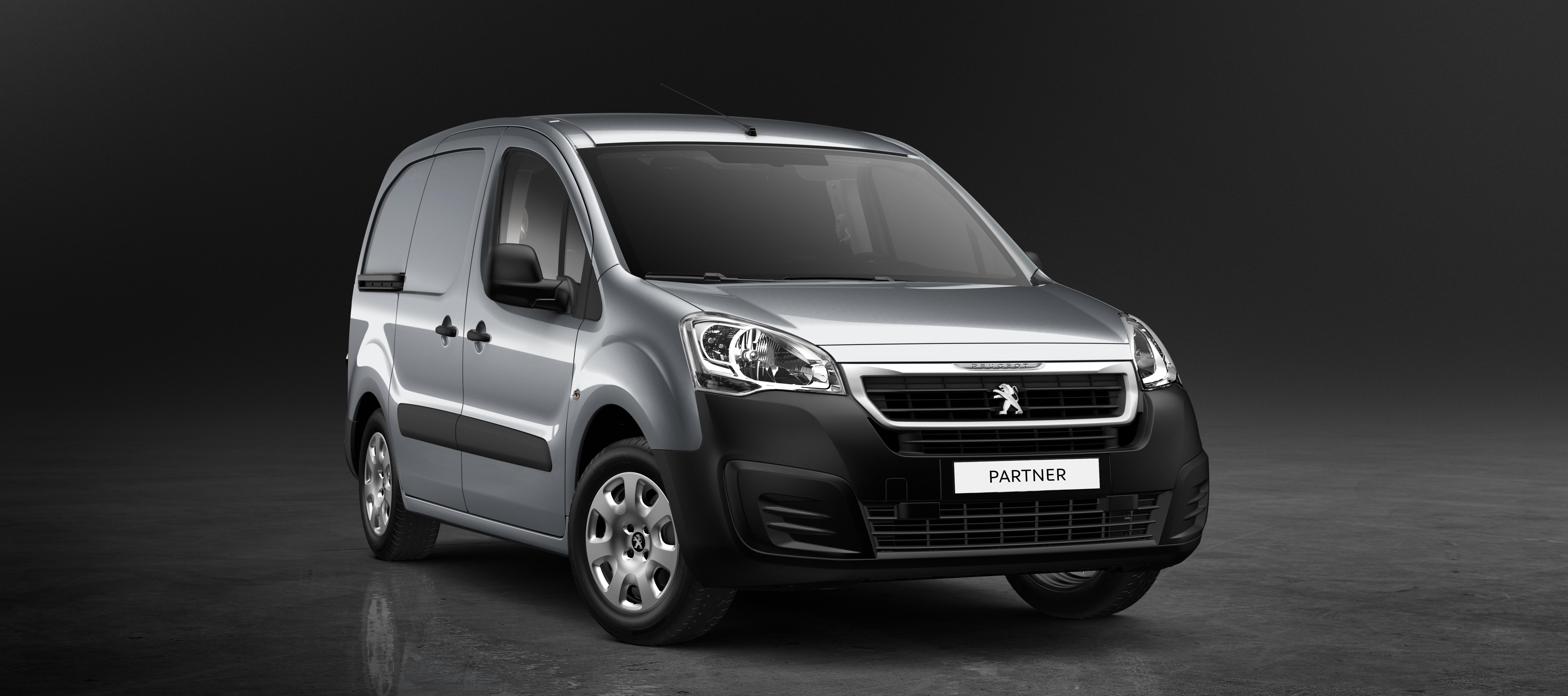 New Peugeot Partner Van